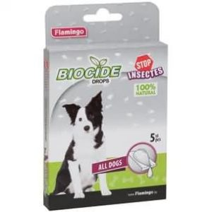Biocide Pipettes Chien – Anti-parasitaire
