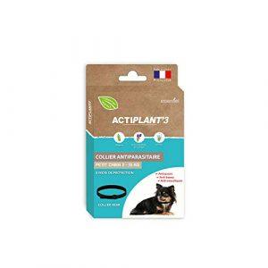 Actiplant'3 – Collier antiparasitaires pour petit chien