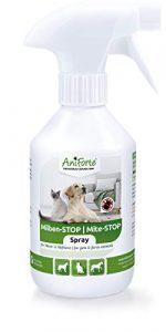 AniForte Anti Mite Spray 250 ml pour Chiens e Chats e Chevaux e Rongeurs, Anti acarien d'oiseau rouge, Anti-Parasite, Contre la Vermine