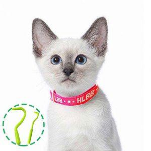 Collier antiparasitaire pour grands/petits chiens et chats, Colliers anti-puces et tiques, Antiparasitaire externe pour chat et chiens, contre les puces et les tiques (chats)