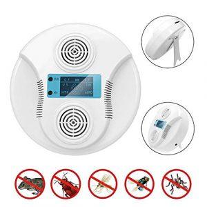 GLXQIJ Prise Anti-Parasitaire Ultrasonique à Commande éLectronique, Smart Repeller Home, IntéRieur Et ExtéRieur, Recharge USB