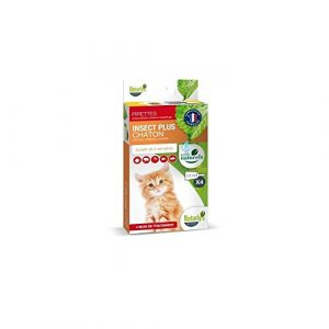 Naturlys – Produit Naturel – Pipette anti-parasitaire Insect Plus pour chats – Naturly's