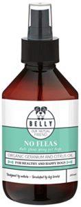 Belly Antiparasitaire pour Chien No Fleas | Produit Anti tiques pour Chien | 250ml Huile Essentielle | Alternative au Collier Anti puces Chien
