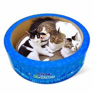 no brand Griffoir, CP-405 Papier ondulé Cat en Forme de Baril Scratch Board Litière Griffe Jouet, Jouets Chat
