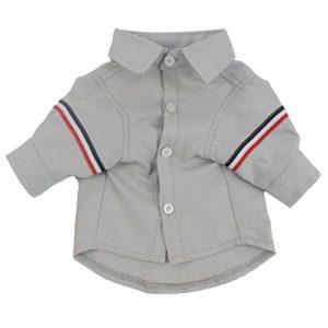 U/A Printemps, été et Automne vêtements pour Animaux de Compagnie Coton Mode Costume décontracté Chien Boutique Chemise