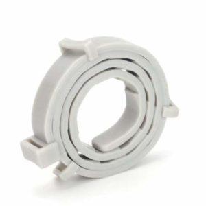 CXWK Collier Anti-puces Anti-puces pour Animaux de Compagnie Collier Anti-Vermifuge pour Animaux de Compagnie, Gris, boîte de 38 cm (pour Chats)