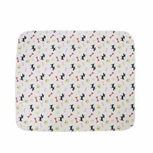Kyman Réutilisable Lit for Chien Tapis Urine de Chien Tapis de Chiot Pee Absorbant Rapide Pad Tapis for Pet Training en Voiture Home Bed (Couleur: B, Taille: L) (Color : B, Size : Small)