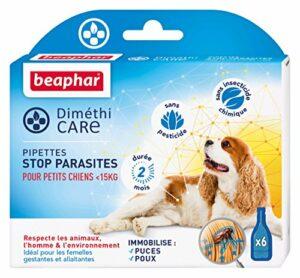 Beaphar – DiméthiCARE pipettes stop parasites – petit chien (