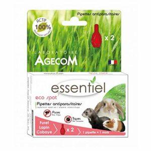 Eco Spot N°7 – Pipette antiparasitaire – Lapins et Furets