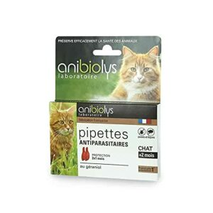 Anibiolys Pipettes Antiparasitaires Chat 2×0,5ml